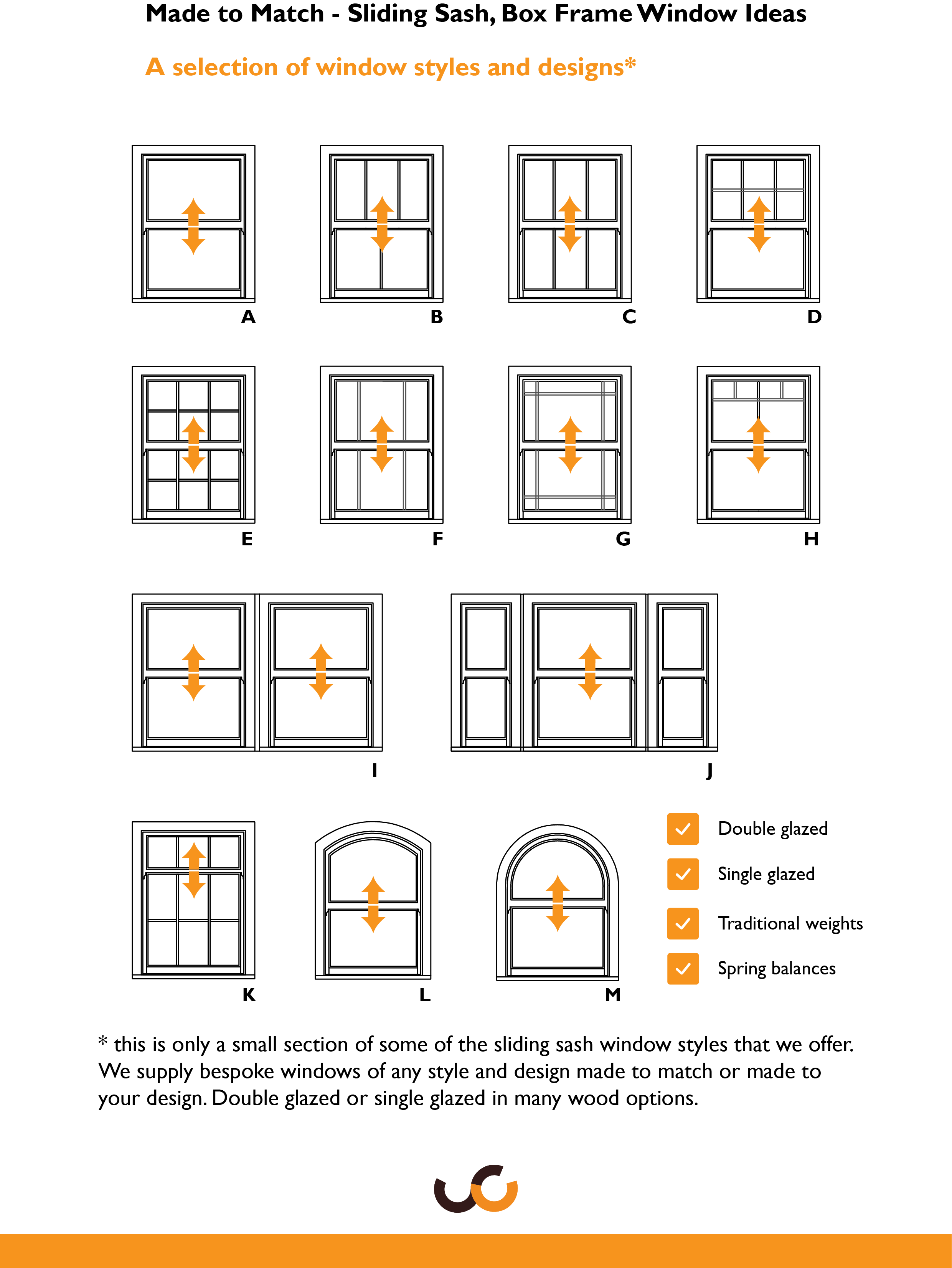 Sliding Sash Window designs